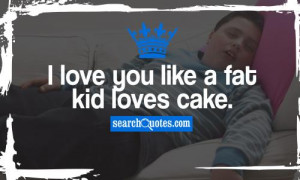 Love You Like A Fat Kid Loves Cake J Cole