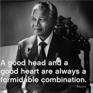 20 motivational and inspiring quotes from Nelson Mandela (20 Photos)