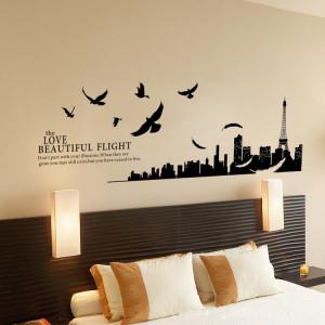 Top 10 Creative Bedroom Wall Art Stickers