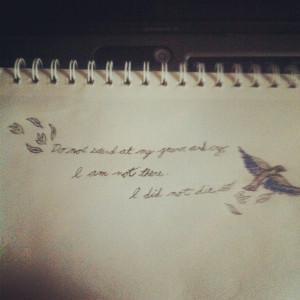 Bird tattoos with quotes7830 Bird Tattoos With Quotes