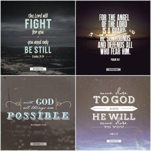 InstaPray.com - Typography Bible verses