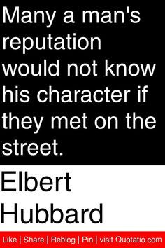 know his character if they met on the street quotations quotes More