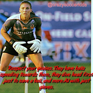Hope Solo Soccer Quotes