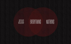 Is Jesus plus nothing a formula for sanctification?