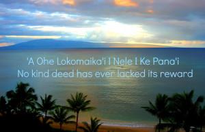 Hawaiian Proverbs and Sayings