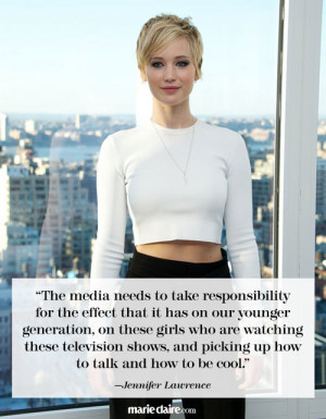Best Jennifer Lawrence Quotes Jennifer Lawrence News Marie Claire