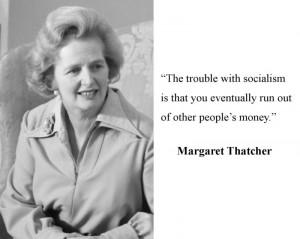 margaret thatcher quotes socialism