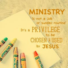 Ministry Quotes