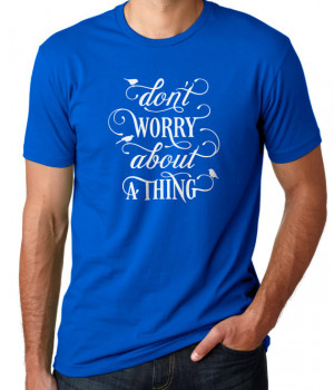 Don't Worry About A Thing ~ Bob Marley 420 Lyric Quote Screen Printed ...