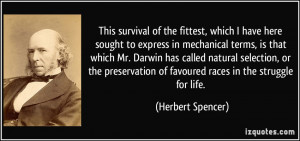 Quotes About Survival of the Fit Test