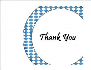 Dinner Party Thank You Cards areBecoming Very Popular!