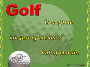 Golf Slogans