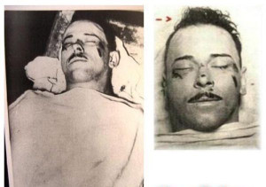 Pictures Showing the Death of John Dillinger (July 1934)