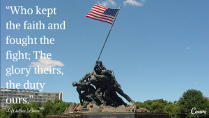 has fourteen quotes to honor the men and women who lost their lives ...