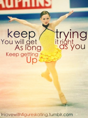 figure skating inspirational quotes