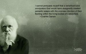 Darwin Quotes Creationism