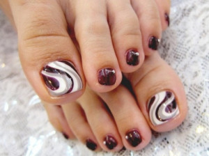 Pedicure Nail Art Trend
