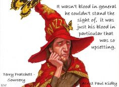 Discworld Quote by Sir Terry Pratchett, Artist Paul Kidby, by Kim ...