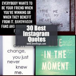 30 Best Instagram Quotes