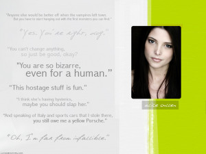 Twilight Series Alice Quotes