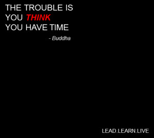 The trouble is…