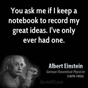Albert Einstein Quote