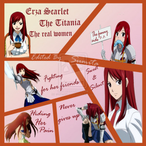 Fairy Tail Quotes Erza Erza scarlet fairy tail