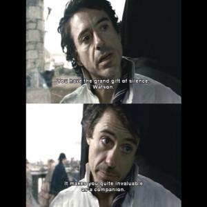 Sherlock Holmes Movie Quotes Sherlock holmes
