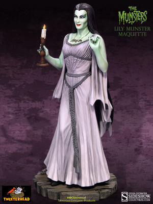 lily munster lily munster maquette by tweeterhead now shipping