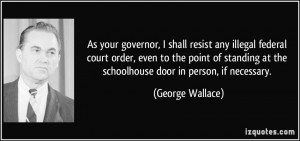 More George Wallace Quotes
