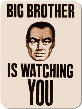 George Orwell's novel, 1984, Oceania propaganda magnet -