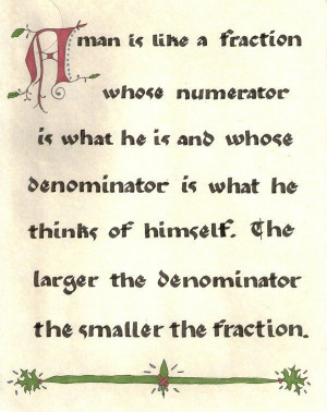 Math Quotes and Sayings