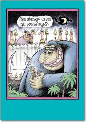 Kong Wedding Adult Humor Congratulations Greeting Card Nobleworks