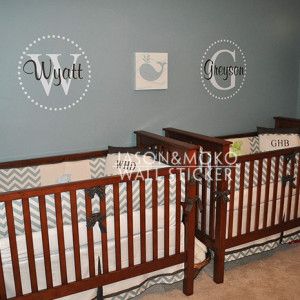 initial Vinyl Wall Lettering Words Quotes Decals Art Custom, Kids Wall ...