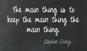 ... . - Stephen Covey Quotes we like by Giraffe CVs www.giraffecvs.co.uk