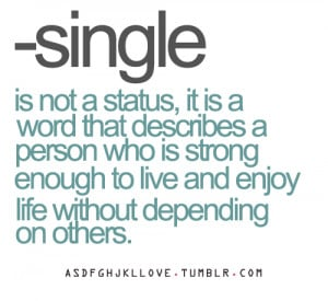 quote-about-single-is-a-word-that-describes-a-person-who-is-strong ...