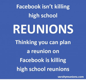 ... attending a high school reunion facebook high school reunion high