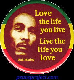 Wallpapers Bob Marley Quotes Love, Life and Happiness