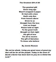 End Rhyme Poems A christmas poem.