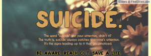 Suicide Prevention cover