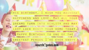 Happy Birthday Friendship Quotes