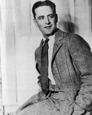 Scott Fitzgerald. Author of Babylon Revisited.