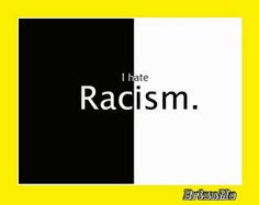 ... even worse. You are no better than the opposite race! End racism