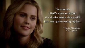 ... include: The Originals, rebekah mickaelson, pretty, quote and quotes