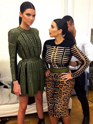 order! Kendall Jenner discovers the upside to being Kim Kardashian ...
