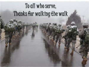 Thank you Dad and every single person that serves...