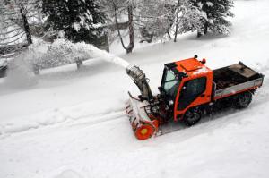 Sidewalk Snow Removal Equipment