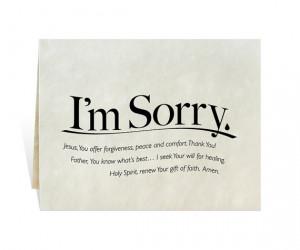 Sorry printable card, tear, prayer, apology, misunderstanding ...