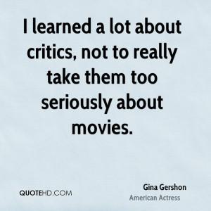 Gina Gershon Quotes