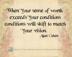 Your vision... #Alan Cohen #Quote #words